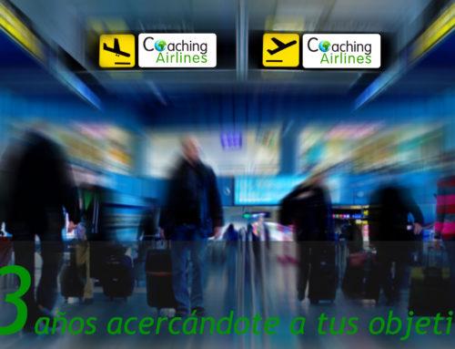 TERCER ANIVERSARIO DE COACHING AIRLINES
